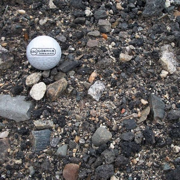 one and one-half inch recycled asphalt gravel