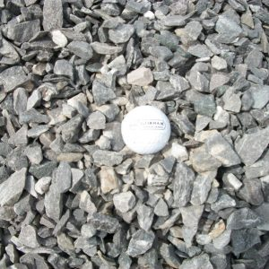 three-quarter inch crushed stone