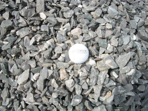 three-quarter inch crushed stone