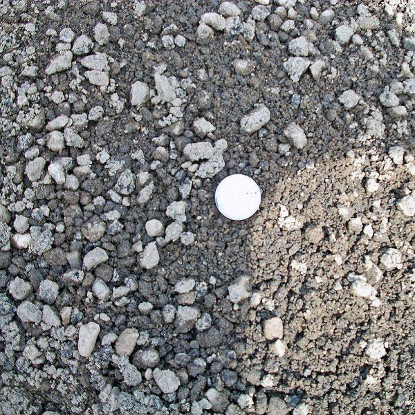 three-quarter inch recycled asphalt gravel