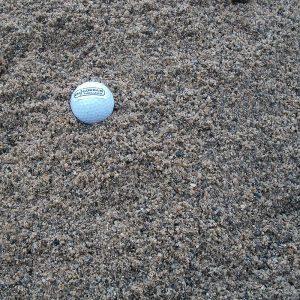 screened sand